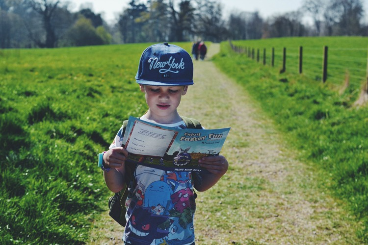Easter Egg hunt at Kingston Lacy