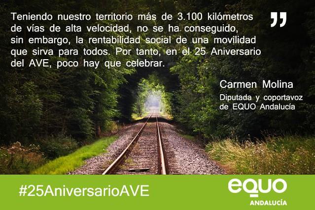 25 años del tren de élite AVE.