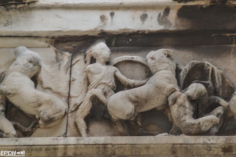 Serie sobre los trabajios de Hércules