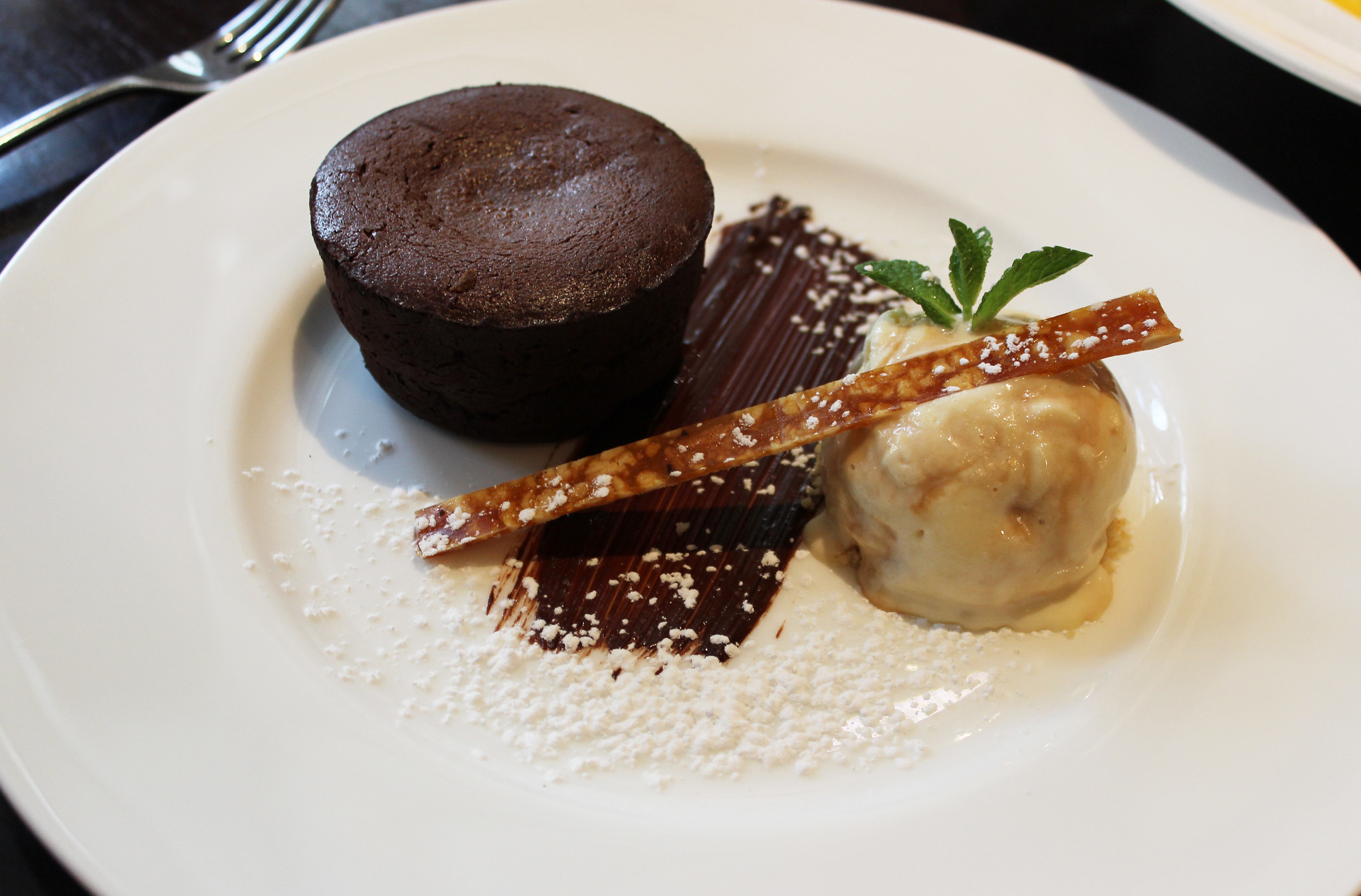 11 chocolate fondant Hunter 486 The Arch London Restaurant Review FoodFashFit (1)