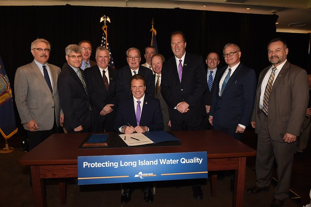 Governor Cuomo Signs Legislation Investing 42.5 Billion in Clean Water Infrastructure and Water Quality Protection