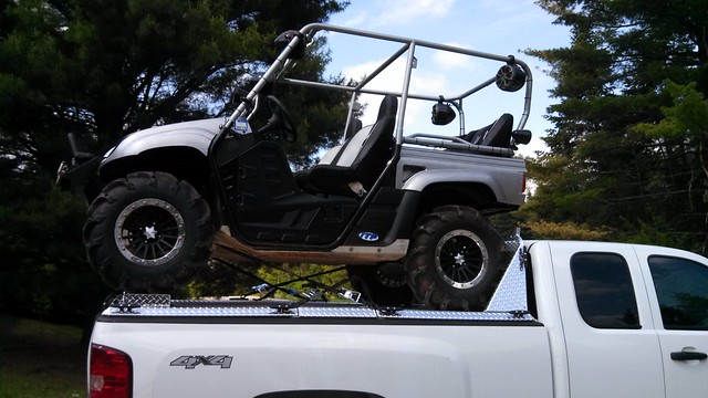 Yamaha Rhino Rear Differential Gusset
