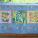 Books for Baby quilted wall hanging