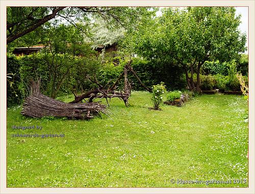 Garten schawerda viel gestaltung mit totholz 2013 06 for Gestaltung garten