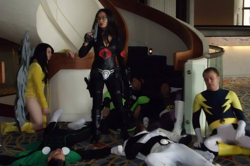 Legion Of Superheroes Defeated By Baroness Dragon Con