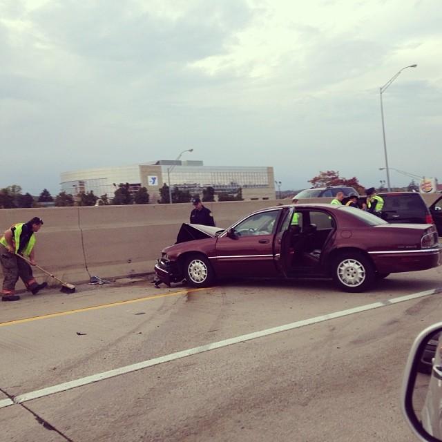 Multi Car Accident Toronto Feb