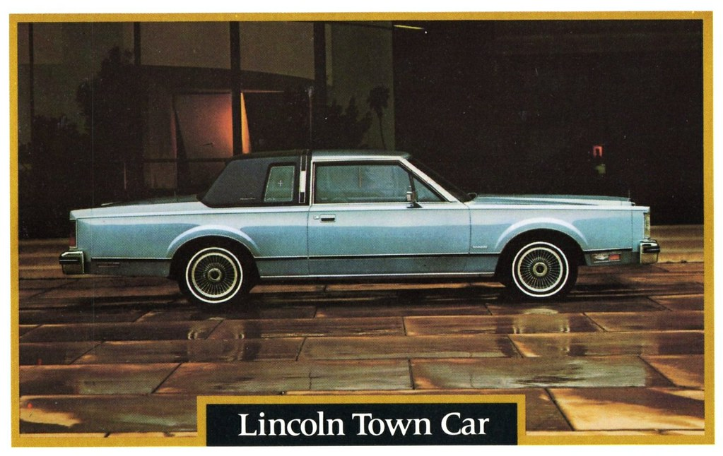 1981 lincoln town car two door alden jewell flickr for Door 2 door cars