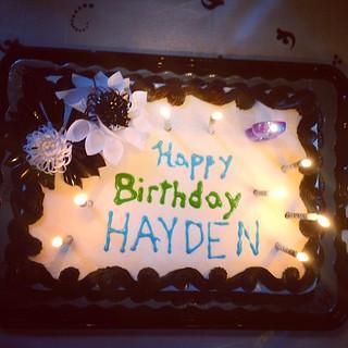happy birthday (party), hayden!! #daughter #cake #birthday