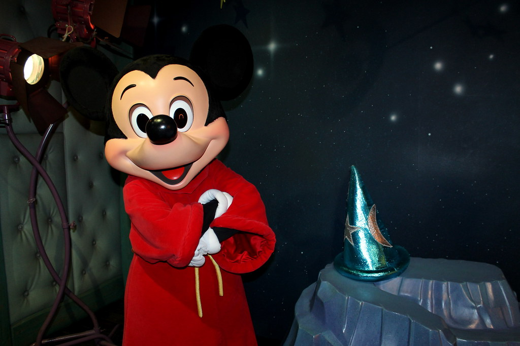Image Result For Mickey Mouse Wizard
