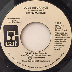 GWEN MCCRAE:LOVE INSURANCE(LABEL SIDE-B)