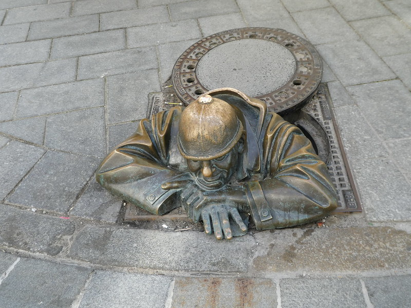 Comul - the man in the sewer, Bratislava