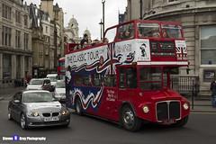 AEC Routemaster - KGJ 118A - RM 1398 - TheClassicTour.com - London 2017 - Steven Gray - IMG_8835