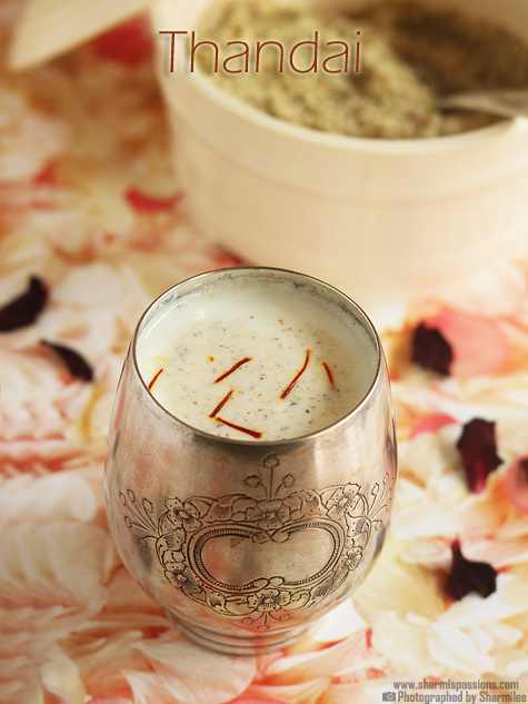 Thandai masala powder Recipe