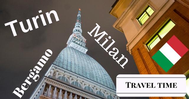 Turin-Milan-Bergamo