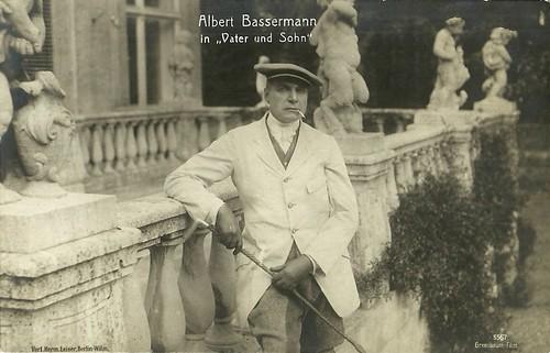 Albert Bassermann in Vater und Sohn