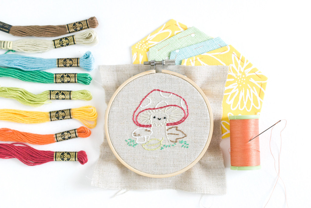 Out in Nature Stitching Club