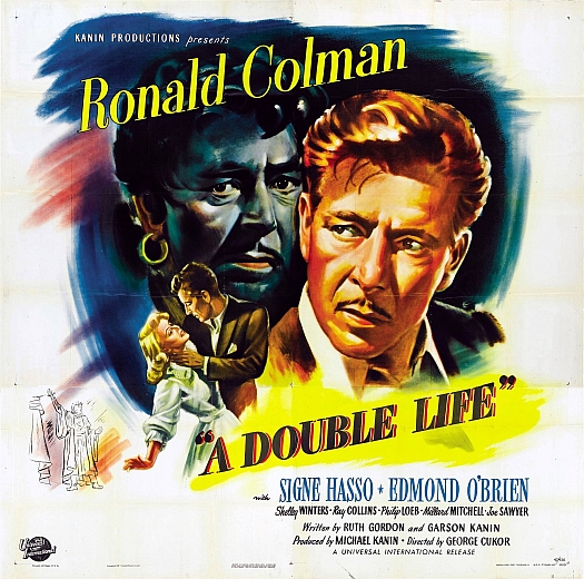 A Double Life - Poster 1