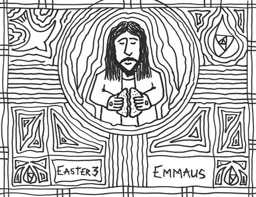 Emmaus bulletin b&w