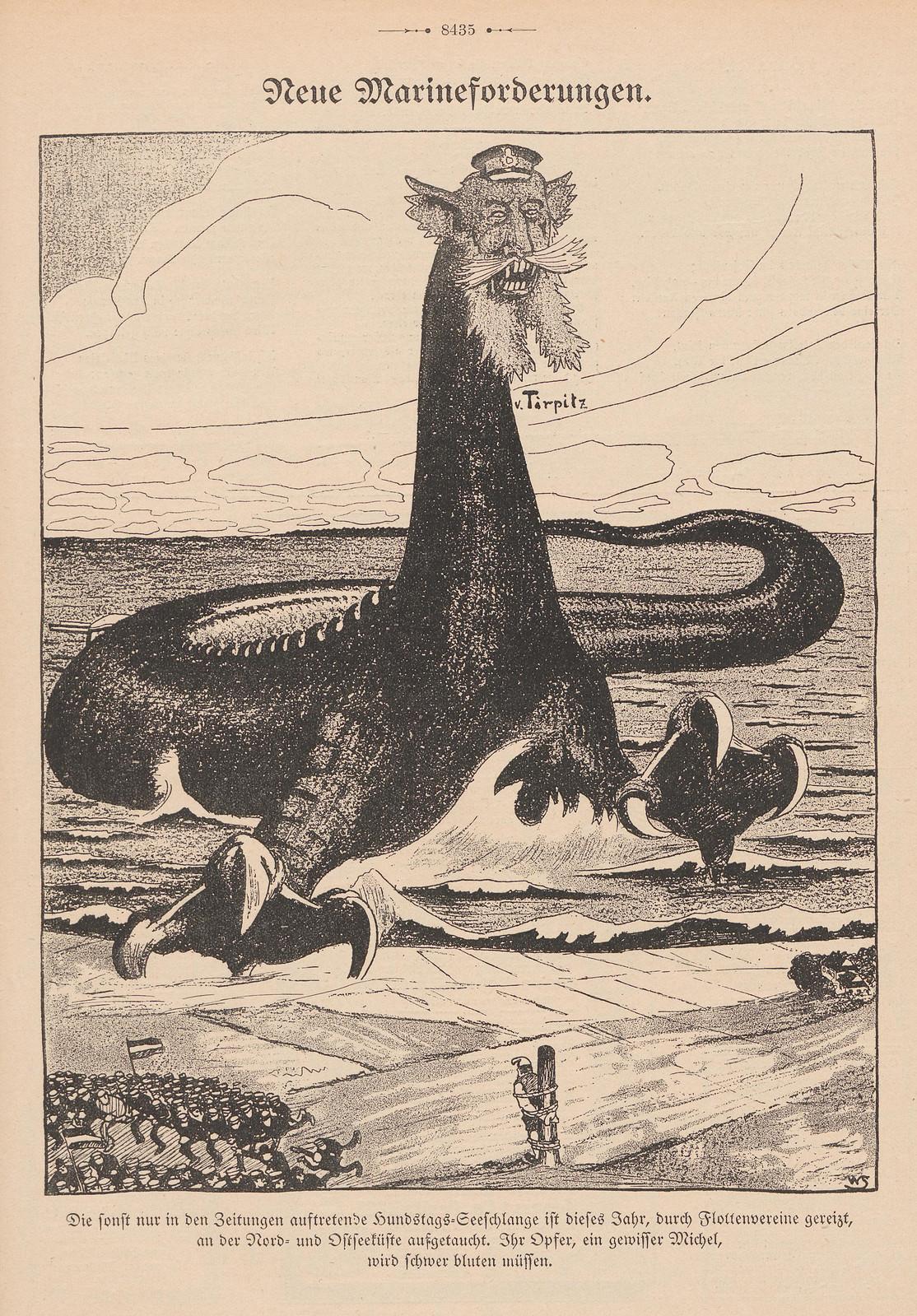 Willi Steinert  - Neue Marineforderungen, 1914