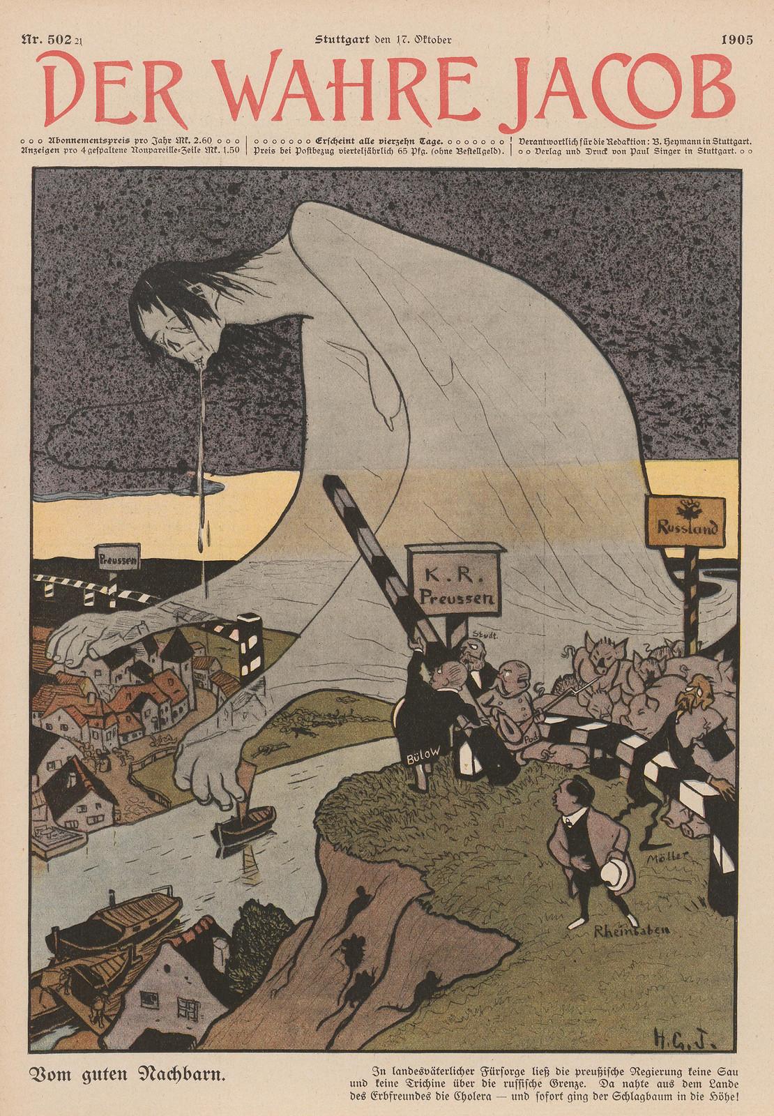 Hans Gabriel Jentzsch - From the good neighbor, 1905