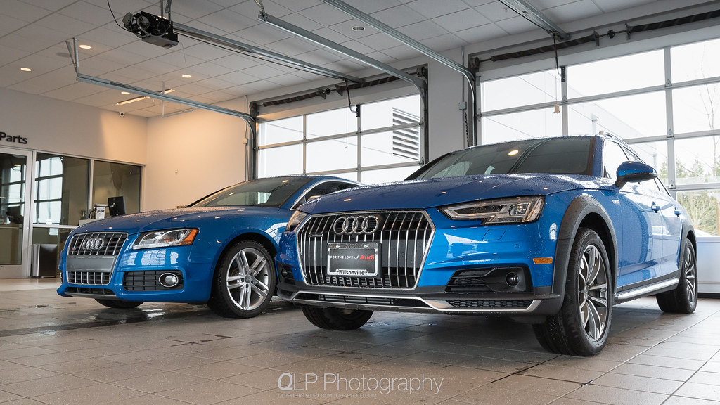 Audi S5 and A4 allroad quattro