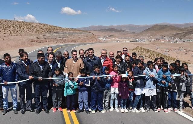 Inauguración de Pavimento en la Ruta 51
