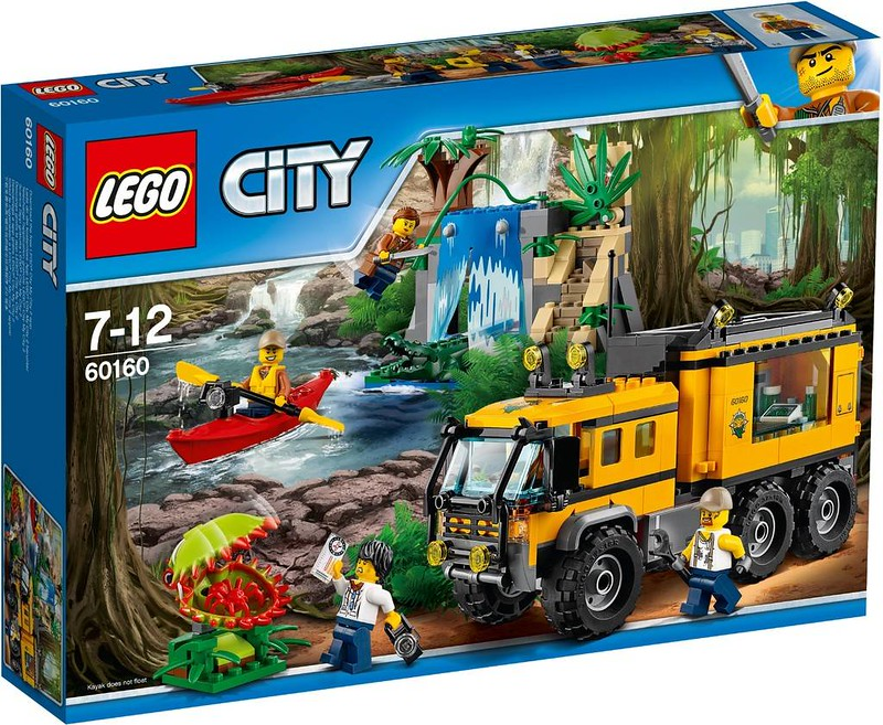 LEGO City Jungle Mobile Lab (60160)