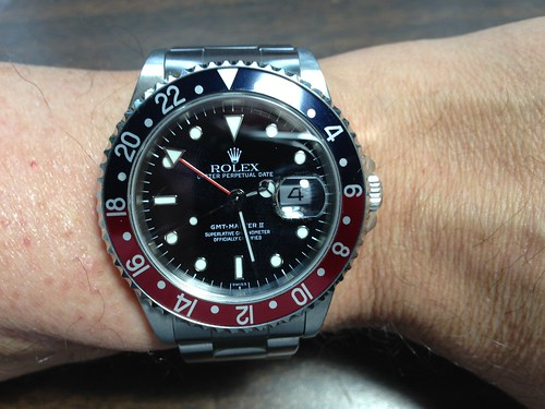 Rolex Oyster Perpetual Date GMT Master II Automatic Chronometer