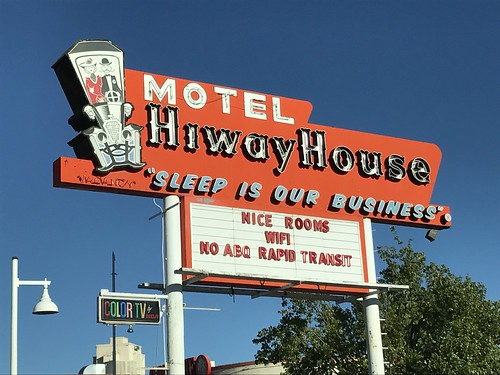 Hiway House Motel, Albuquerque | by Otherstream