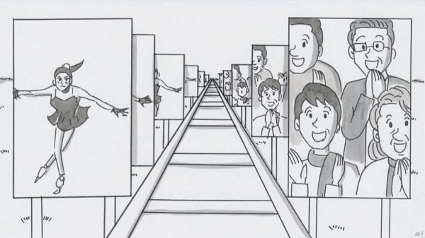 【パラパラ漫画】鉄拳『SLIDE』