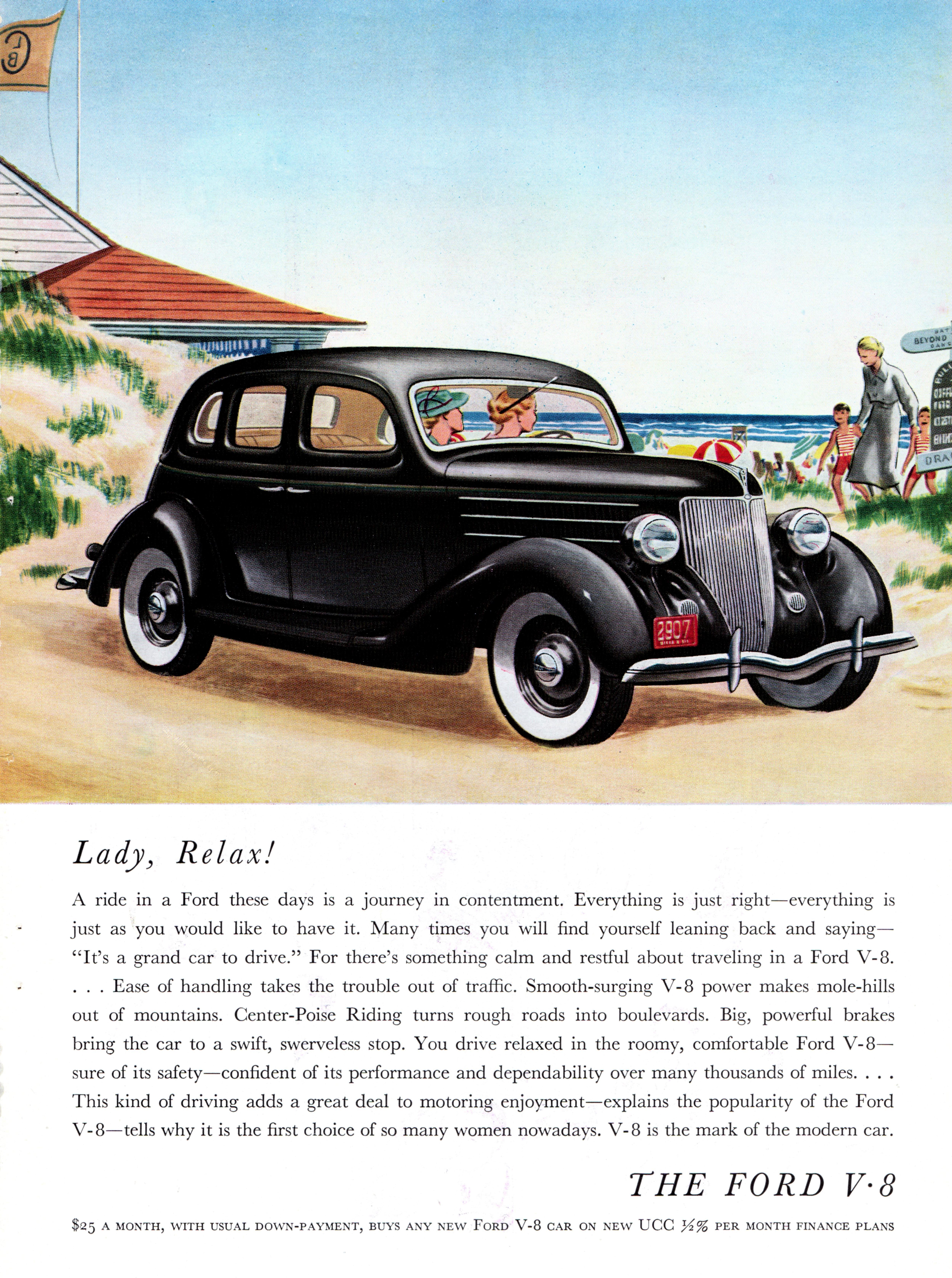 1936 Ford V-8 Fordor Sedan
