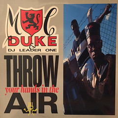 MC DUKE & DJ LEADER ONE:THROW YOUR HANDS IN THE AIR(JACKET A)