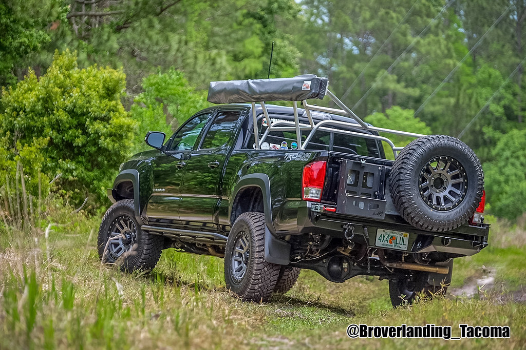 2016 Toyota Tacoma Cbi Offroad Fab Front Bumper With