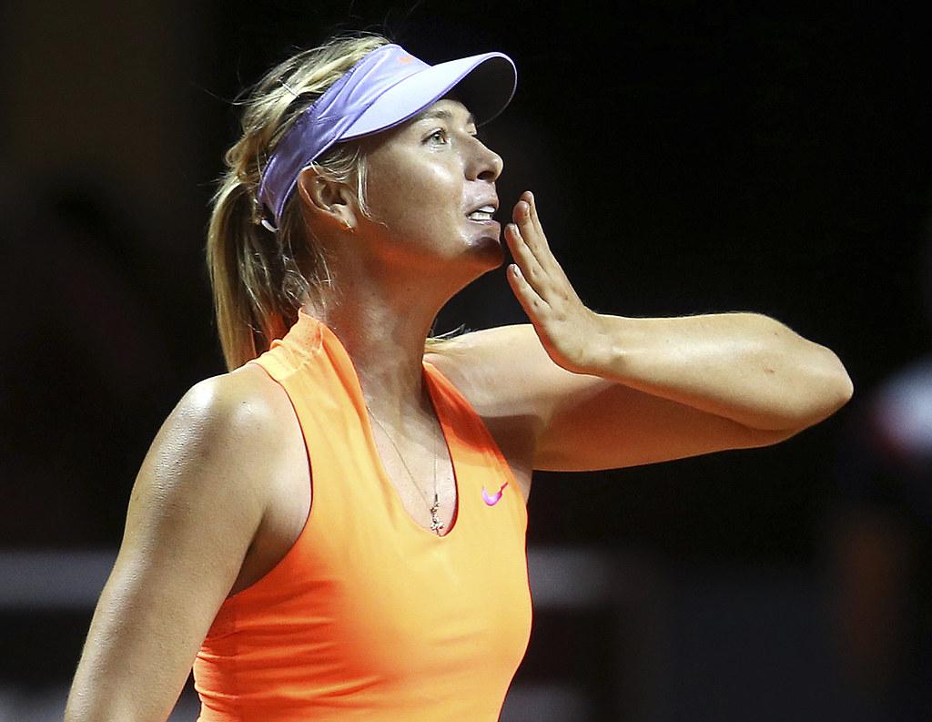 Maria Sharapova。(達志影像資料照)