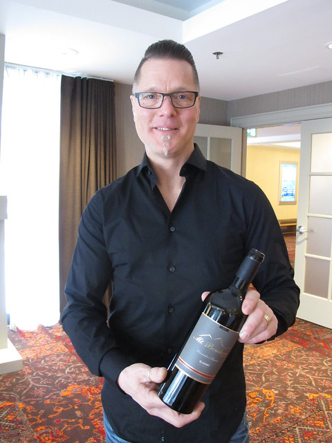 Jim Faulkner Mt Boucherie winemaker