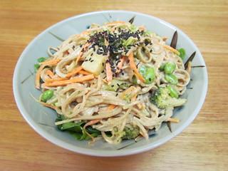 Spicy Sesame Soba Noodle Bowl