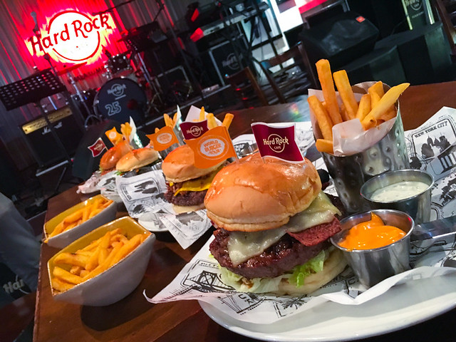Hard Rock Cafe Kuala Lumpur - World Burger Tour Lineup