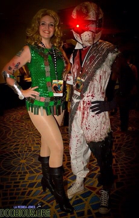 my barbarella green costume made a new tonguebox for dragoncon that was awesome