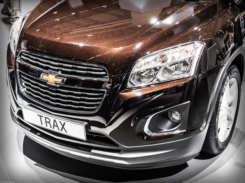Chevy Trax Chevrolet Trax (843158) | IAA 2013 - 65. Internationale ...