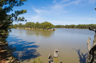 The junction of the Murray and Darling Rivers at Wentworth | by smjbk