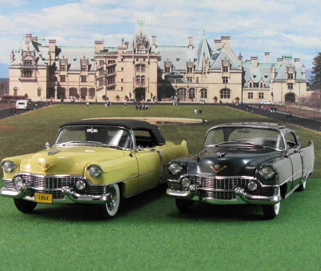 Diecast Car Forums Pics Since Dennis Declared Today As Cadillac 1954 El Dorado Dbm052 D Coupe Deville Ht Gander Gray