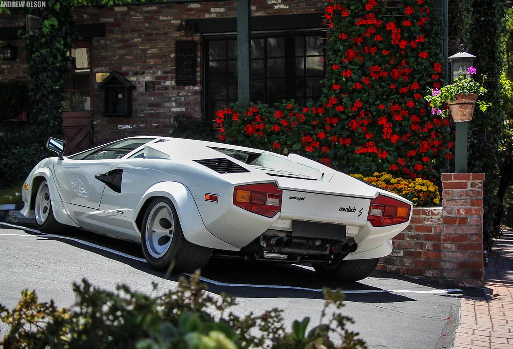 Lamborghini Countach S The Low Body Wingless Countach