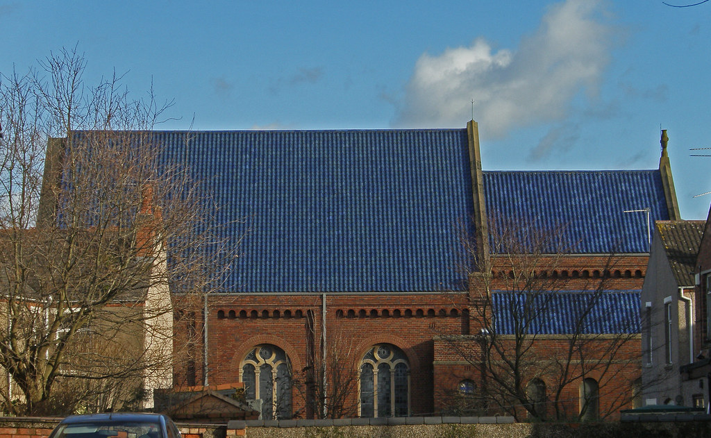 St Mary Magdalen Earlsdon Coventry Blue Roof St Mary