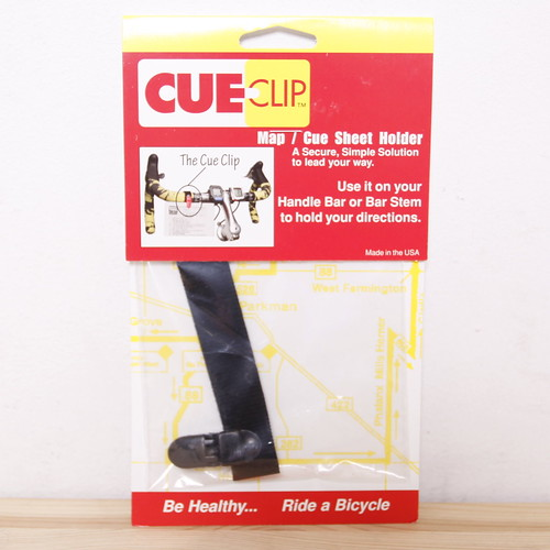 CUE CLIP / Map / Cue Sheet Holder