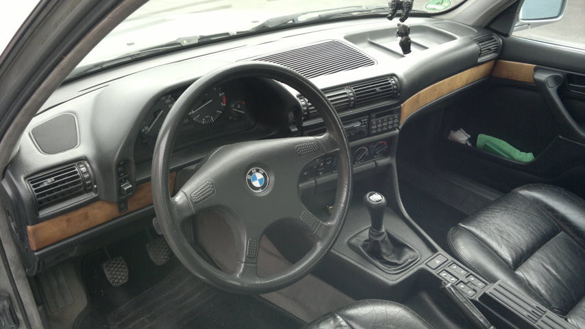BMW 735i, E32, dashboard and interior | granada-uwe | Flickr