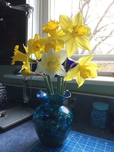 first spring bouquet