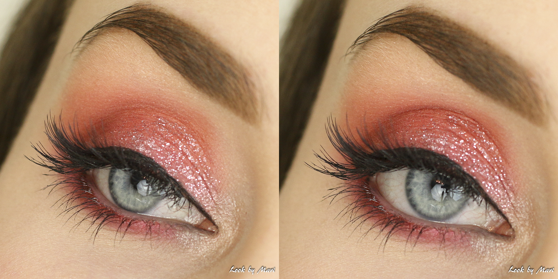 8 glitter eye makeup ideas tutorial pink glitter