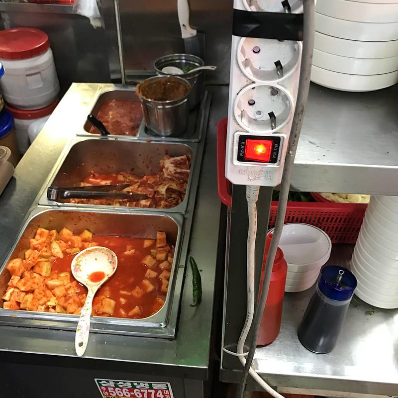 영동시장 현대순대국 돼지국밥