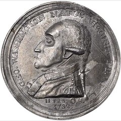 Washington Manly Medal obverse