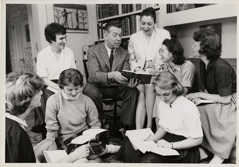 Prof. Giamatti with his students